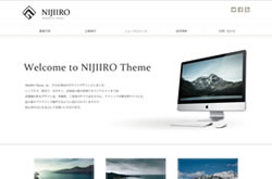 Nijiiro WordPress Theme